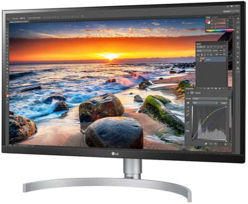 Los mejores monitores para diseño gráfico: LG 27UL850