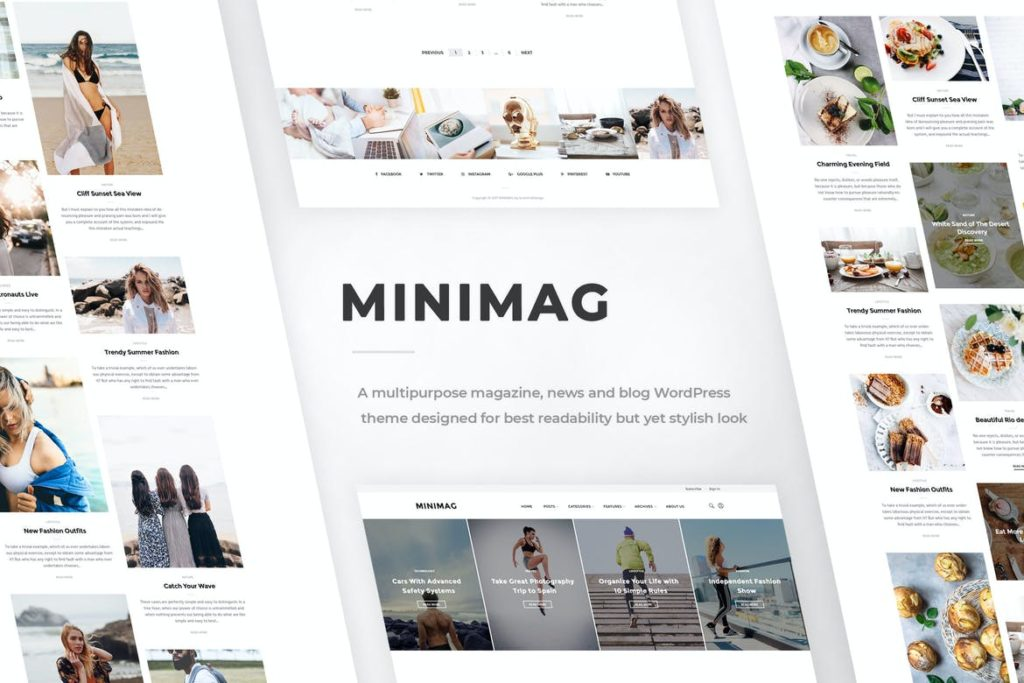 MiniMag - Magazine and Blog WordPress Theme
