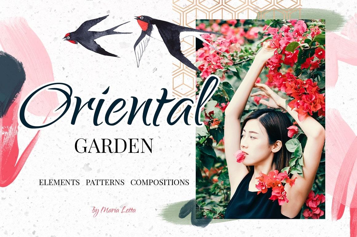 Oriental Garden – Chinoiserie Set