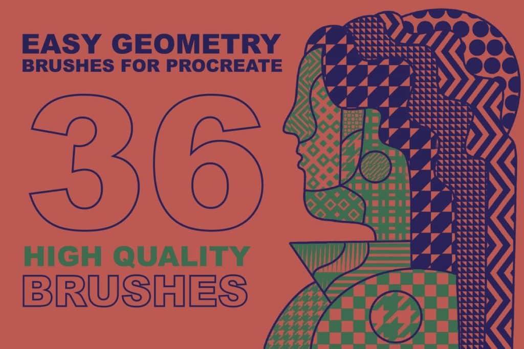 Procreate Easy Geometry brushes