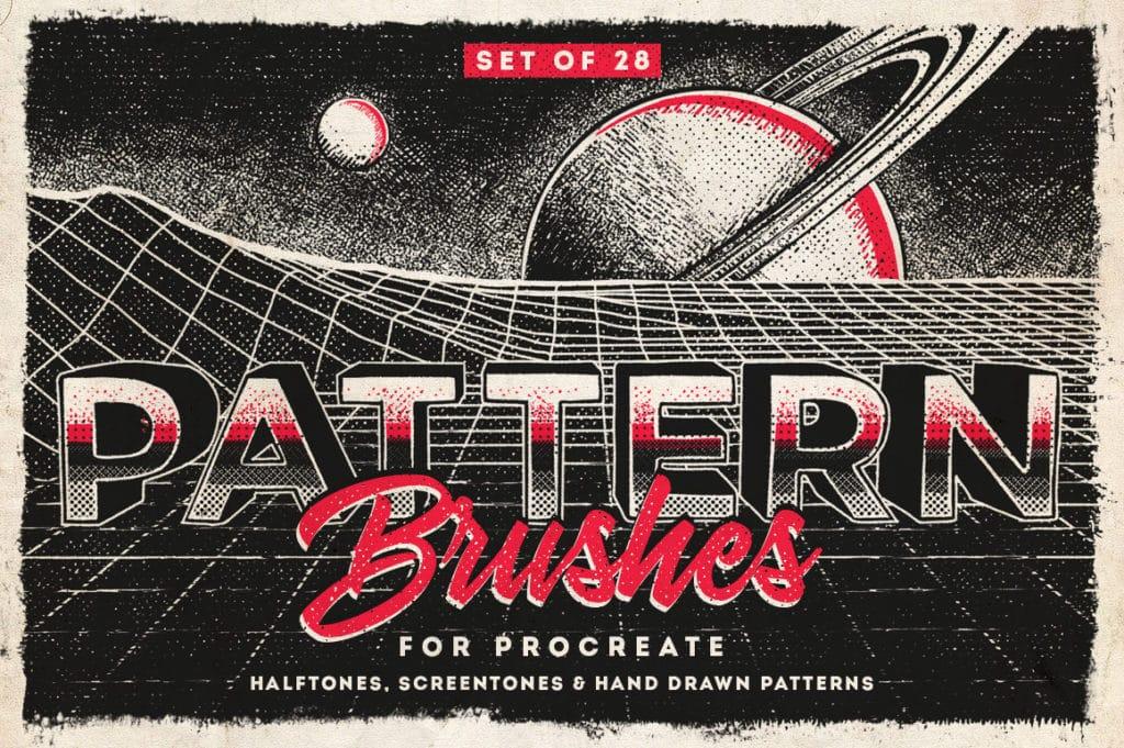 Procreate Pattern Brushes