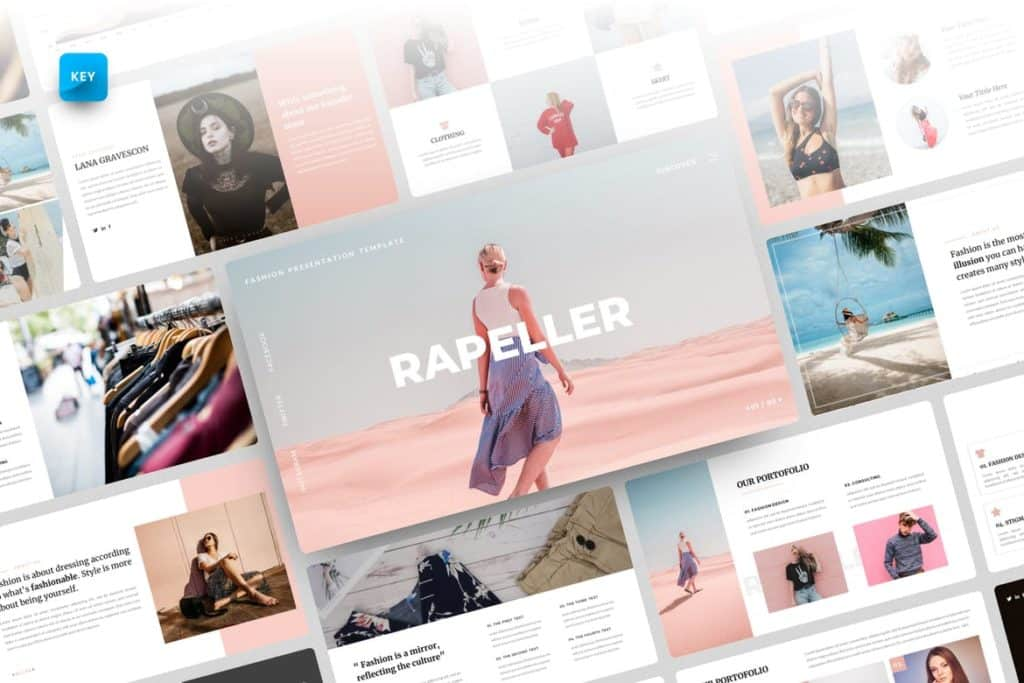 Rapeller-Fashion Keynote Template