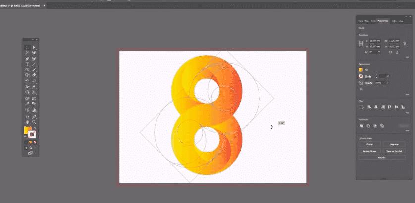 Adobe Illustrator Tools, Shapes, Layers, Tips And Skills