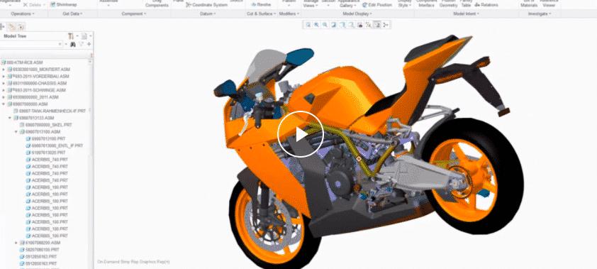 Pro Engineer Creo 3D Design Course