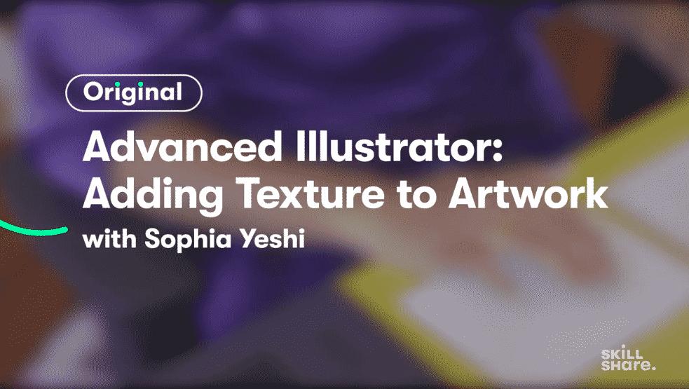 Advanced Illustrator Techniques: Adding Texture in Graphic Design