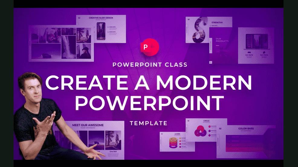 PowerPoint Class: Create a Modern PowerPoint Template