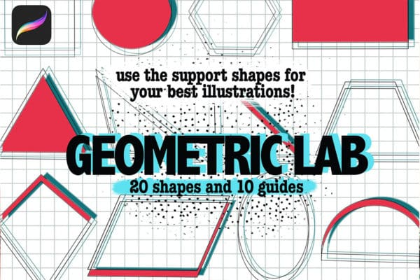 Shapes And Guides For Procreate