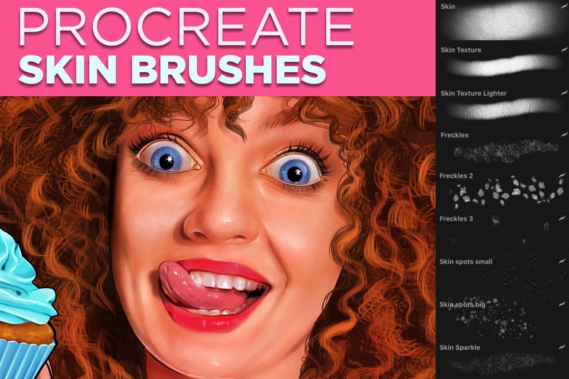 Skin Brushes for Procreate