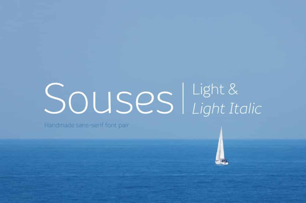 Souses – Light & Light Italic