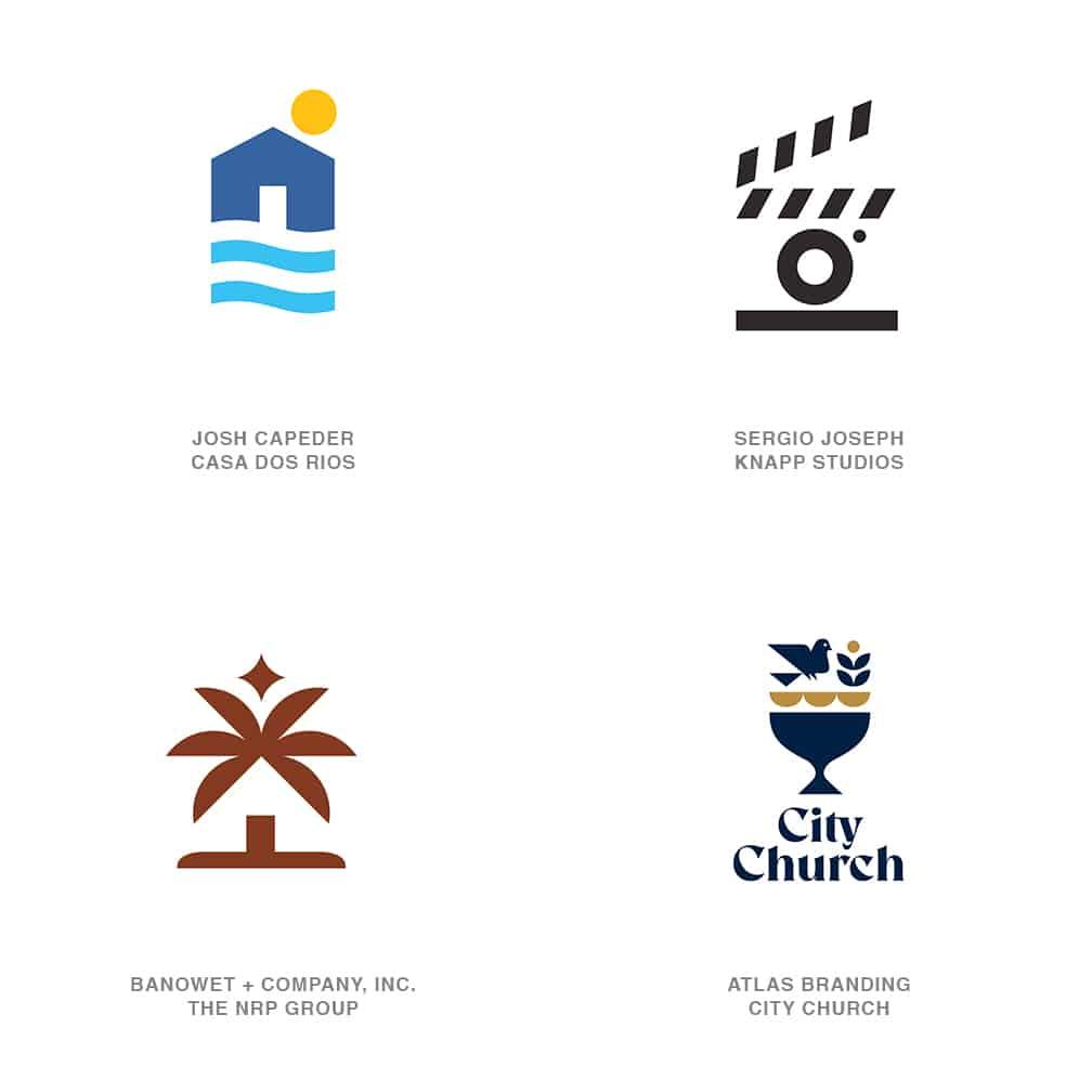 Stacked Logo Design Trend 2021