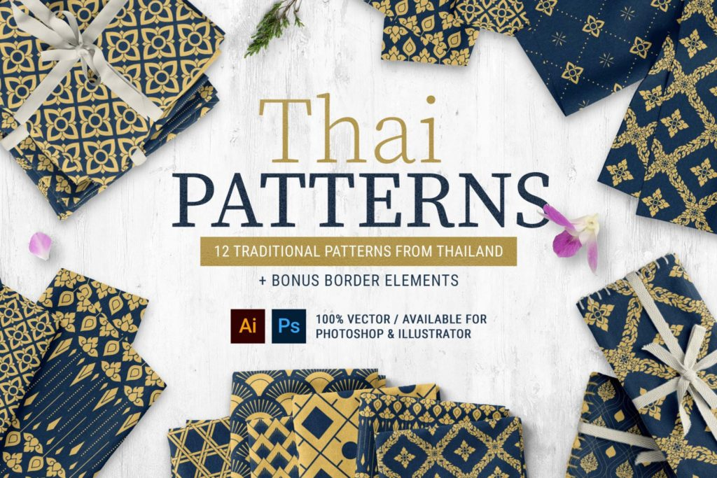 Thai Patterns Collection