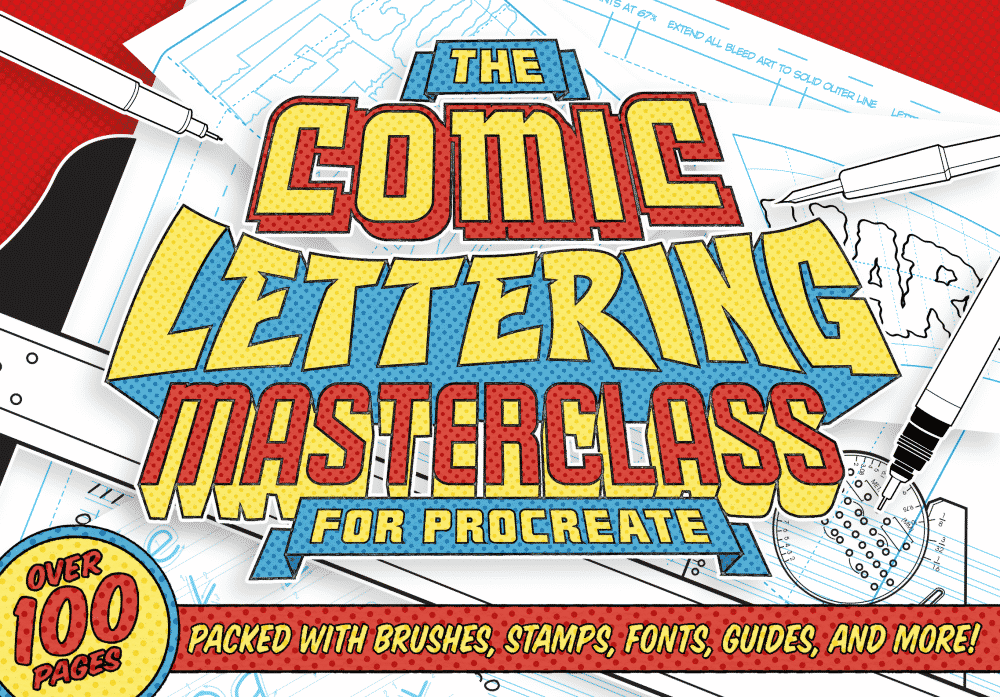 The Comic Lettering Masterclass For Procreate