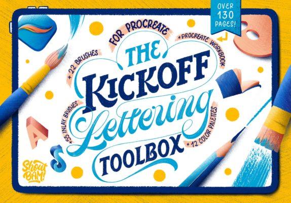 Kickoff Lettering Toolbox