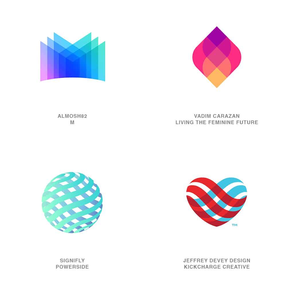 Trans Flip Logo Design Trend 2021