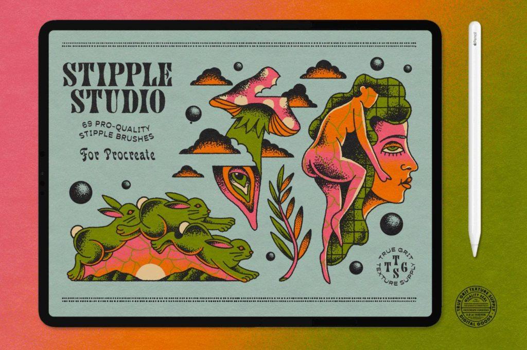 Stipple Studio for Procreate