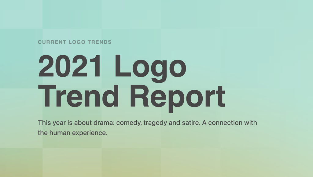 Logo Design Trends Report 2021