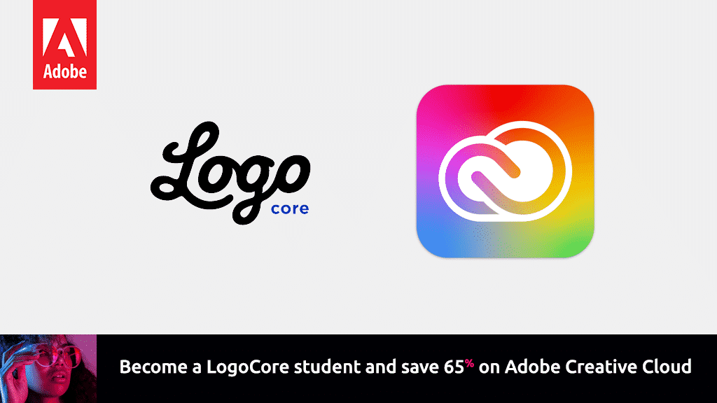 Get the student discount with the Adobe Logocore Course