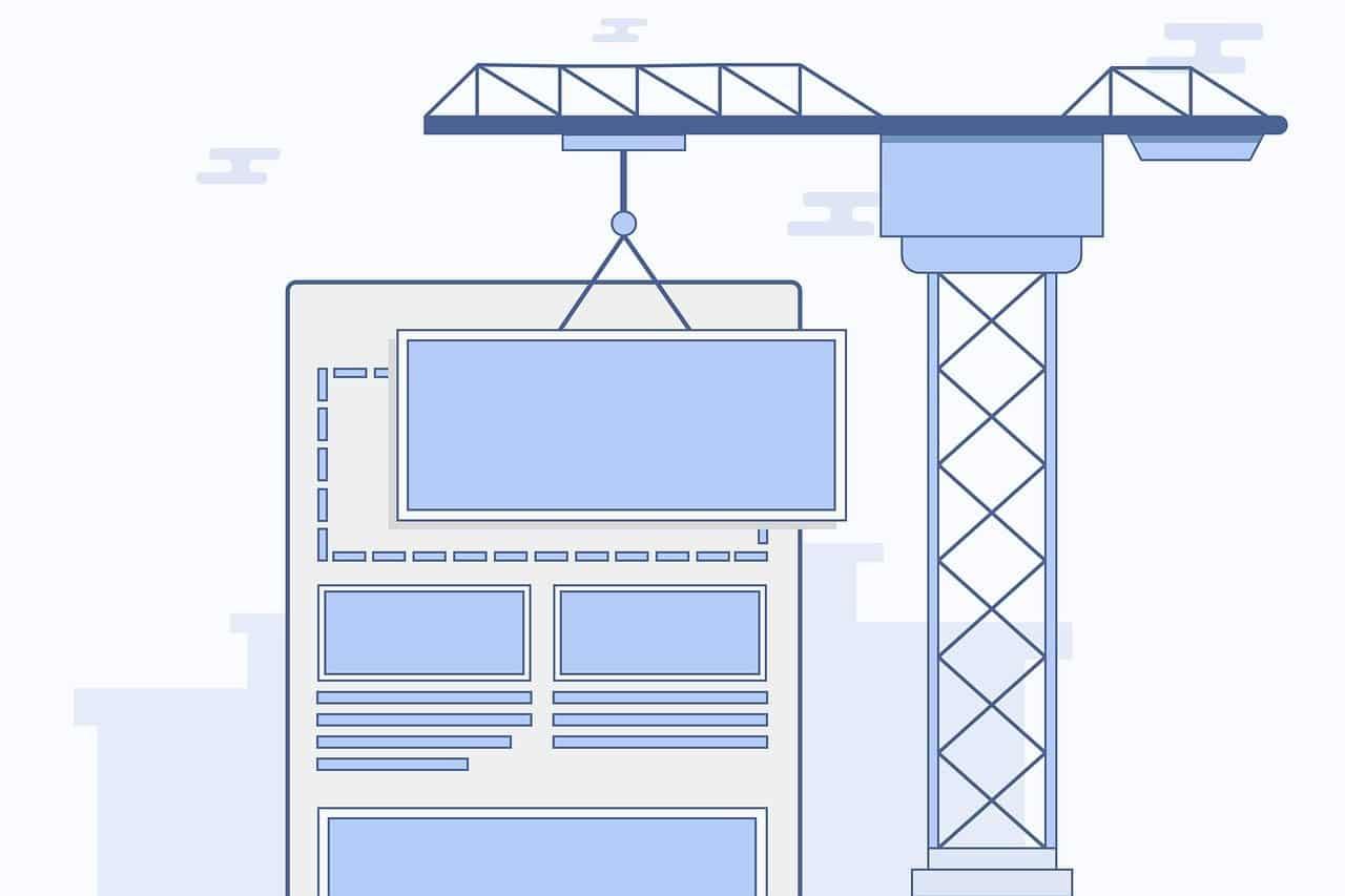Website builder for online portfolio