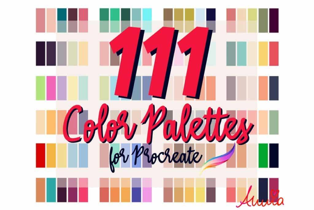 111 Color Palettes for Procreate