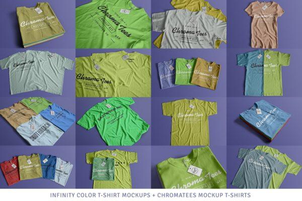 T-Shirt Scenes Mockups Bundle