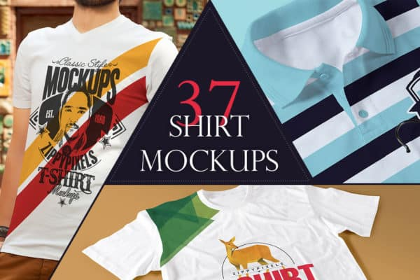 The Amazing T-Shirt Mockups