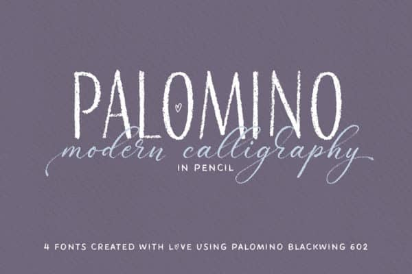 Palomino Font Family Wedding Invitation Font