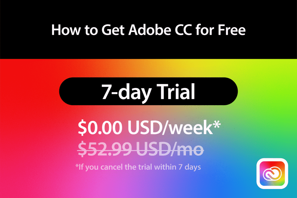How to get Adobe Creative Cloud Free