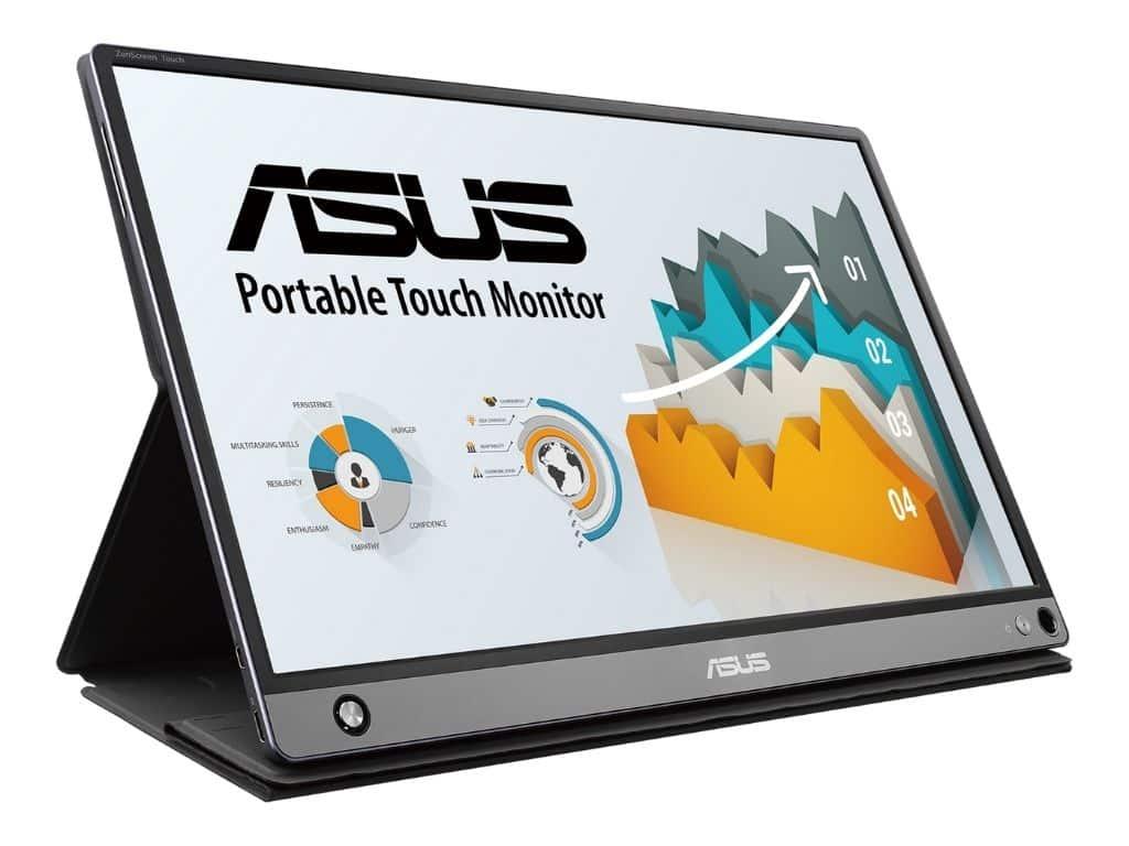 Monitor de pantalla táctil ASUS ZenScreen de 15,6 pulgadas