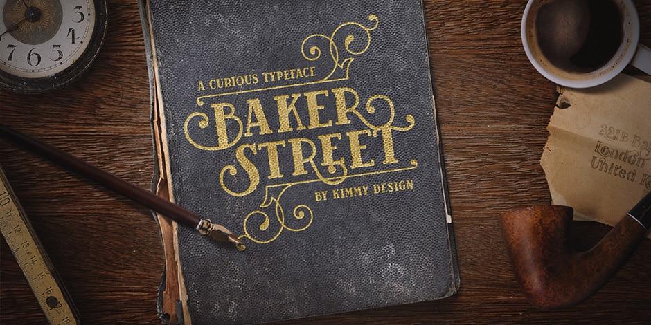 Baker Street Pro Font Family