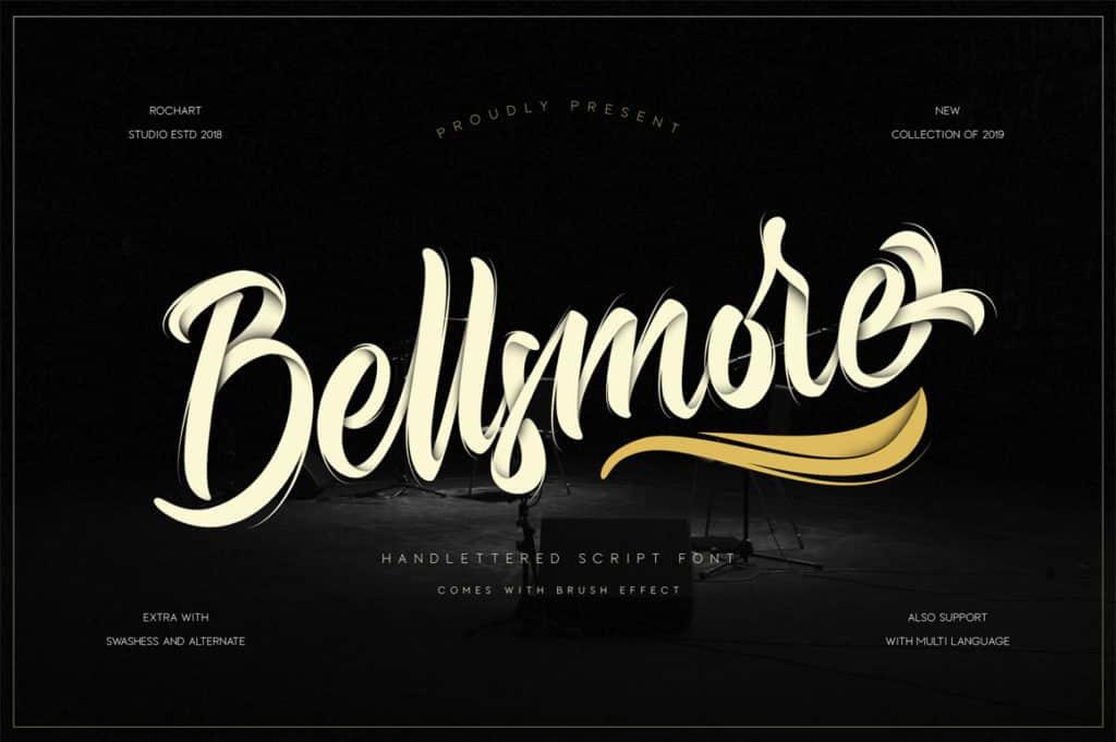 Bellsmore Brush Script Font