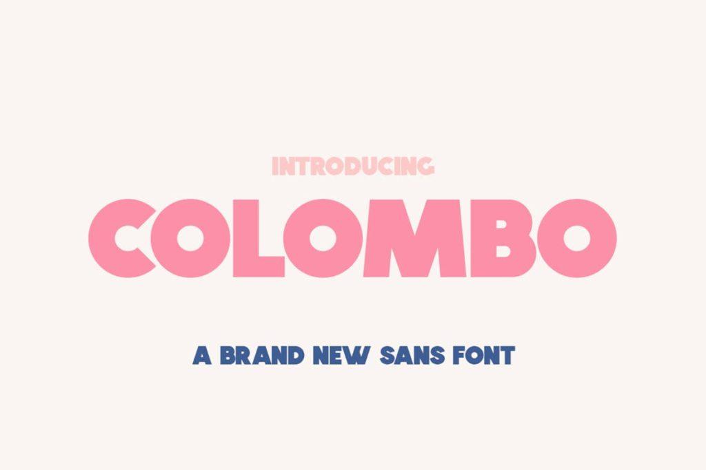 Colombo Sans Font