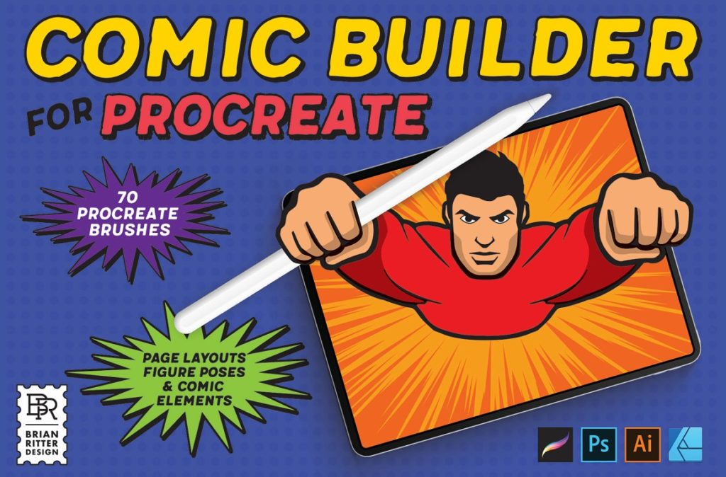 Comic Builder For Procreate