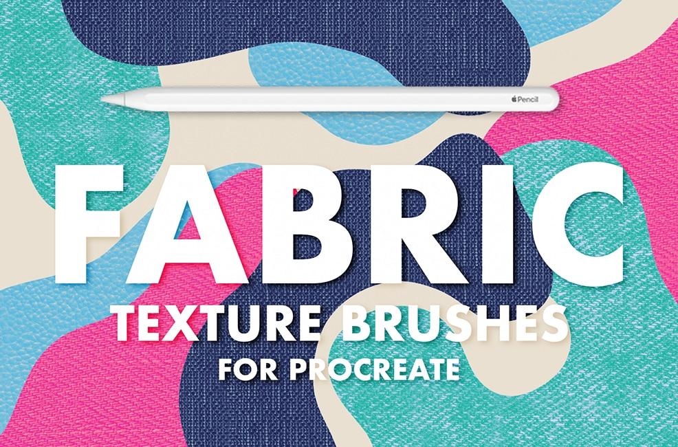 Fabric Procreate Brushes