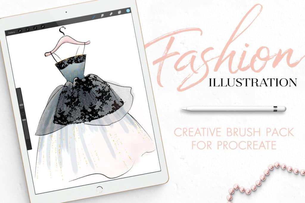 Fashion Illustration Toolset For Procreate