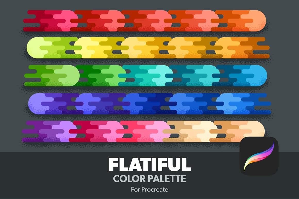 Flatiful- Procreate Color Palette
