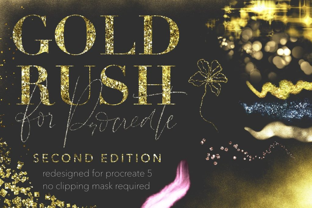 Gold Rush for Procreate 2nd Edition