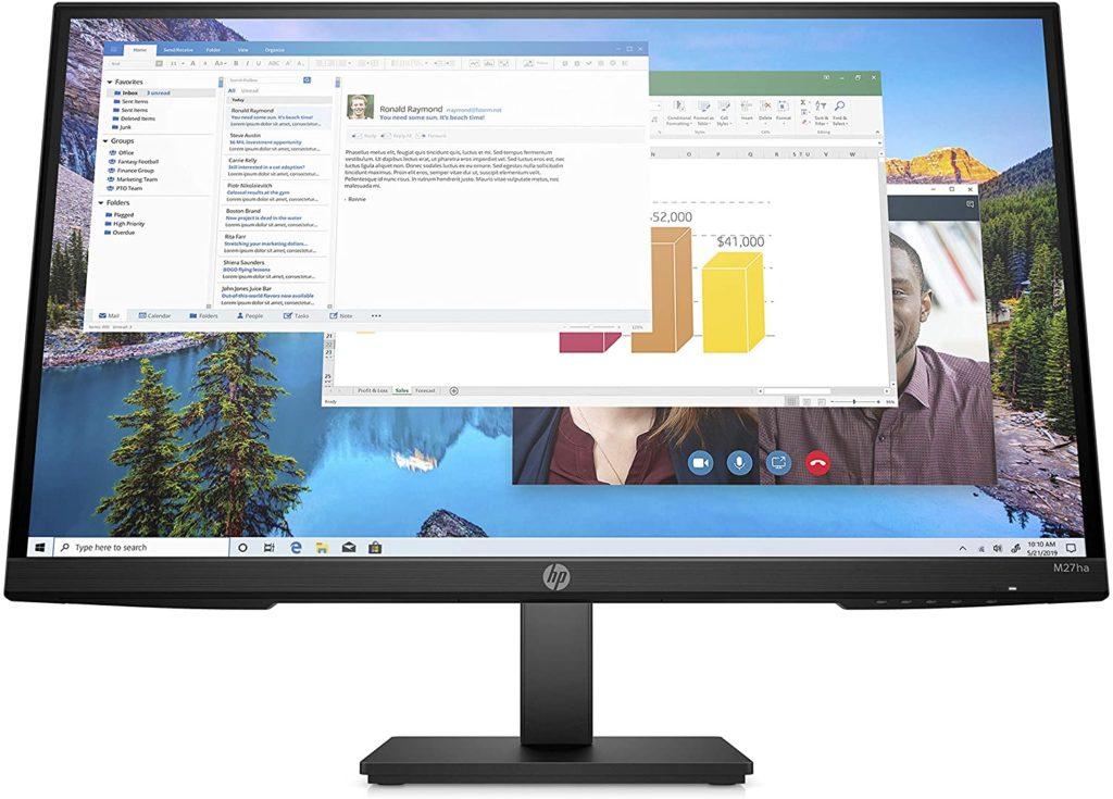 HP M27ha FHD Monitor