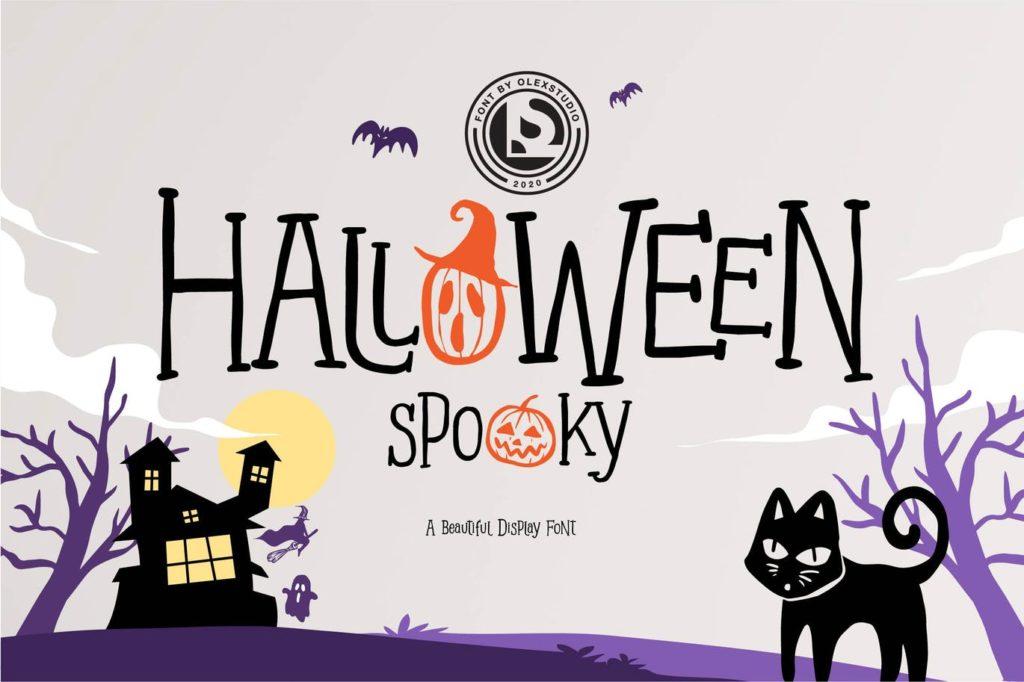 Halloween Spooky - Display Font