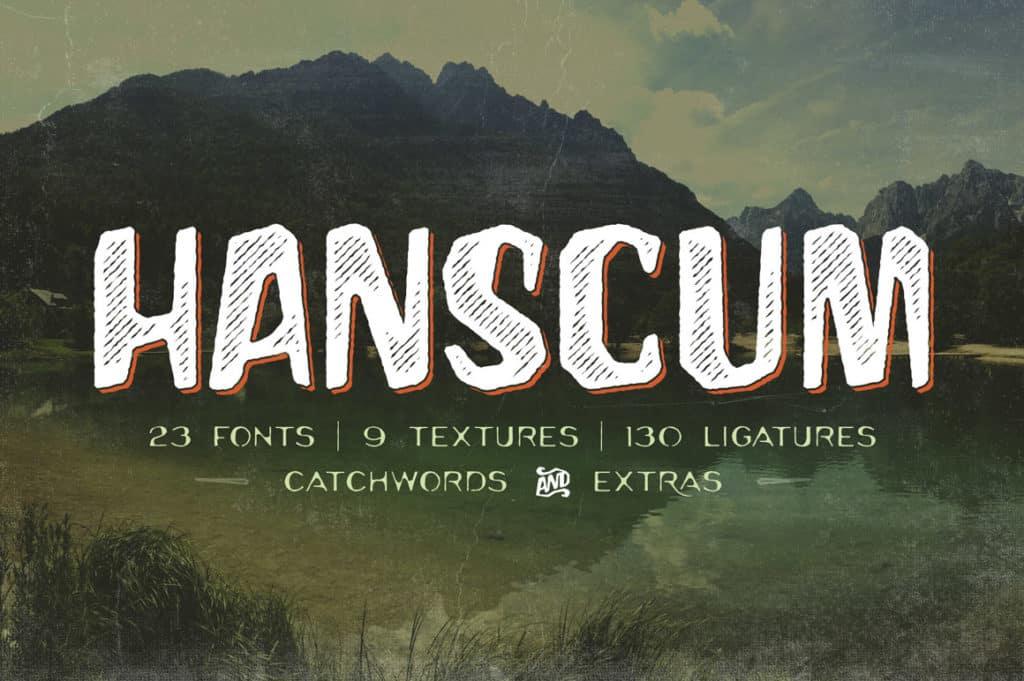 Hanscum Font Family