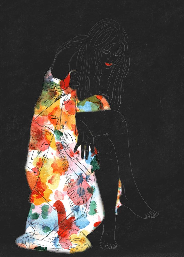 Digital illustration by Darya Jandossova Troncoso