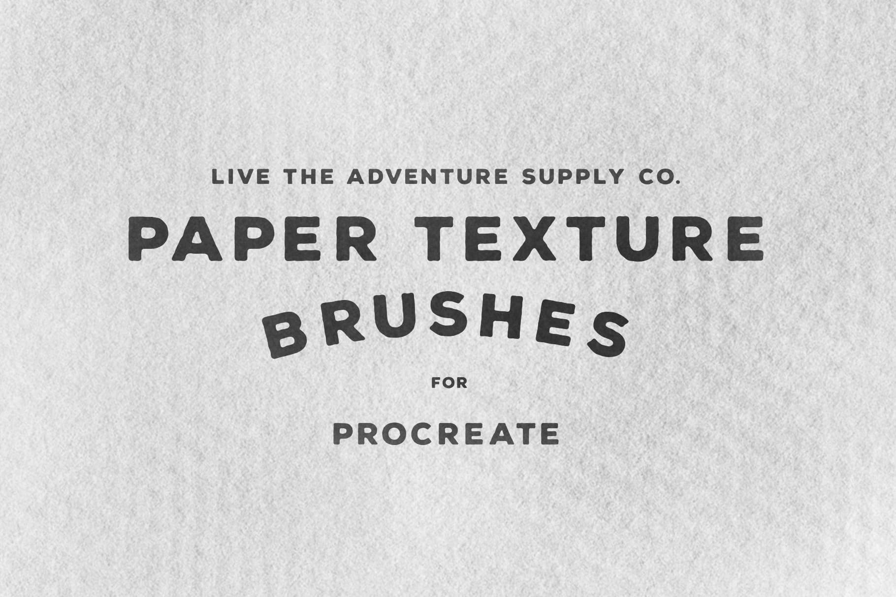 Paper Texture Brushes for Procreate