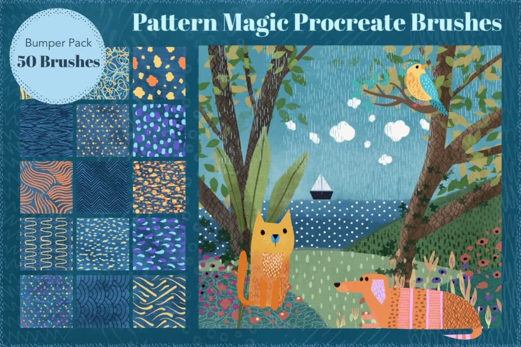 Pattern Magic Procreate Brushes