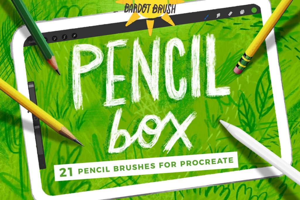 Pencil Box for Procreate