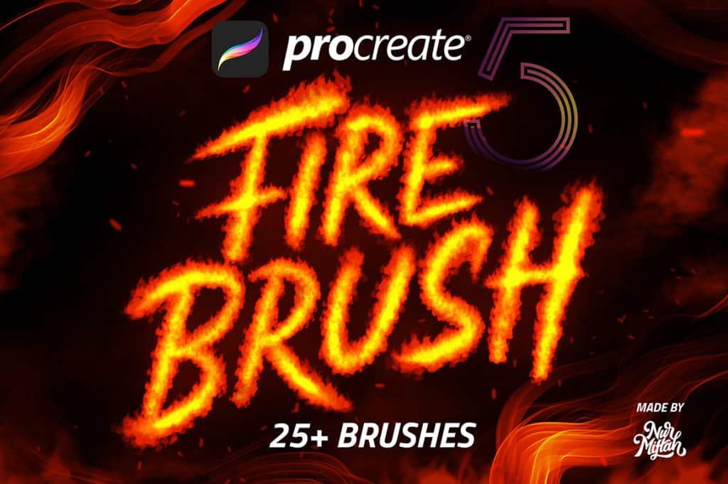 Procreate Fire Brushes