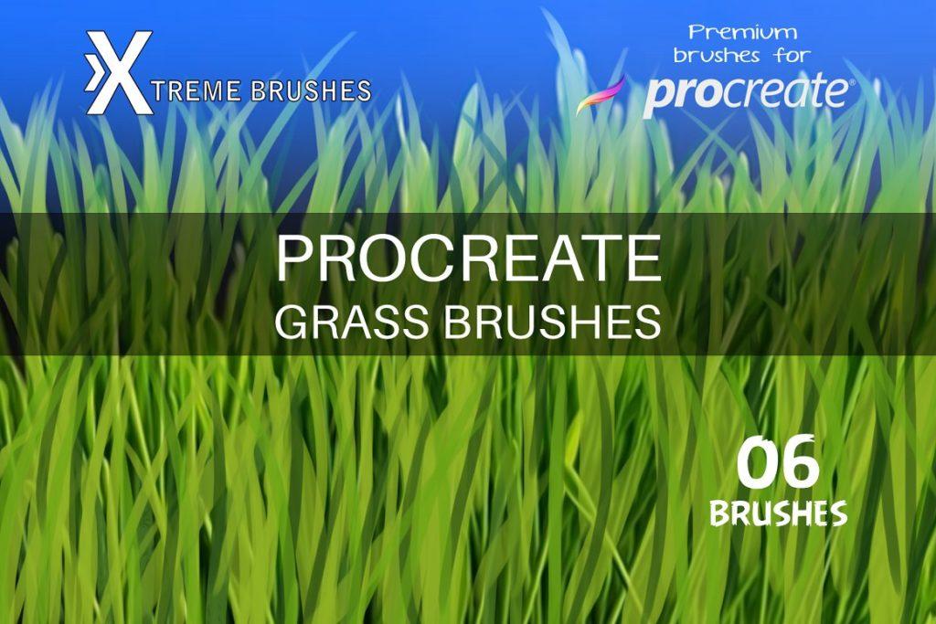 Procreate Grass Brushes