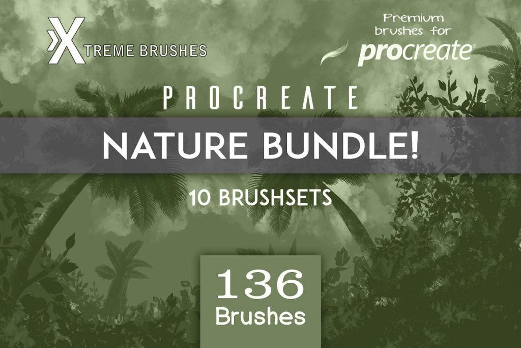 Procreate Nature BUNDLE!