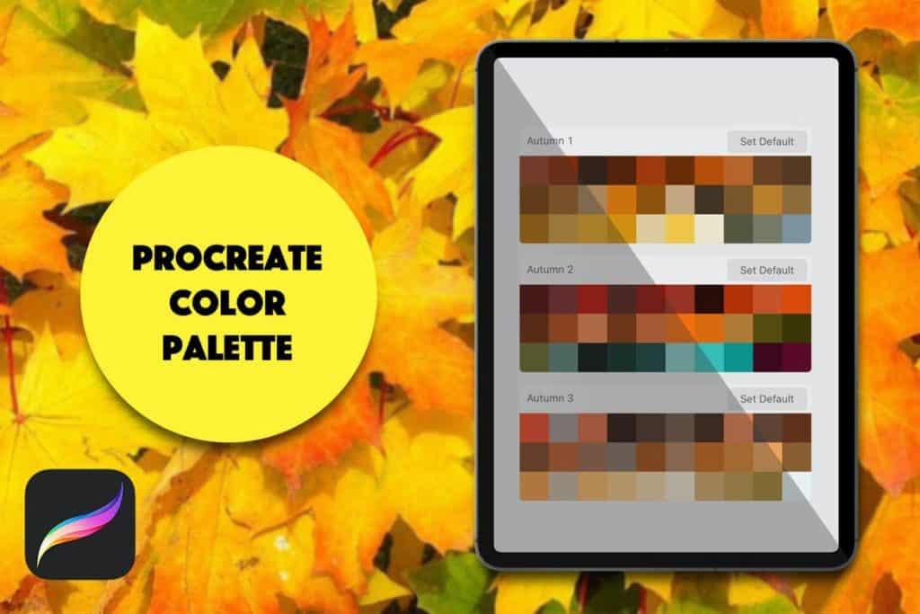 Procreate Palette - Autumn
