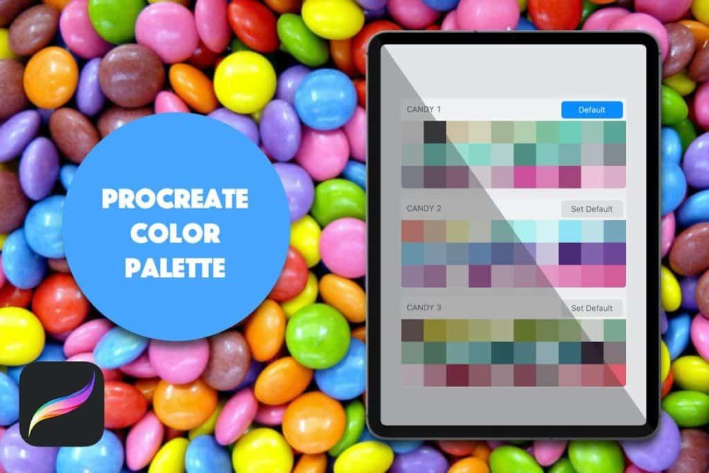 Procreate Palette - Bright Candy