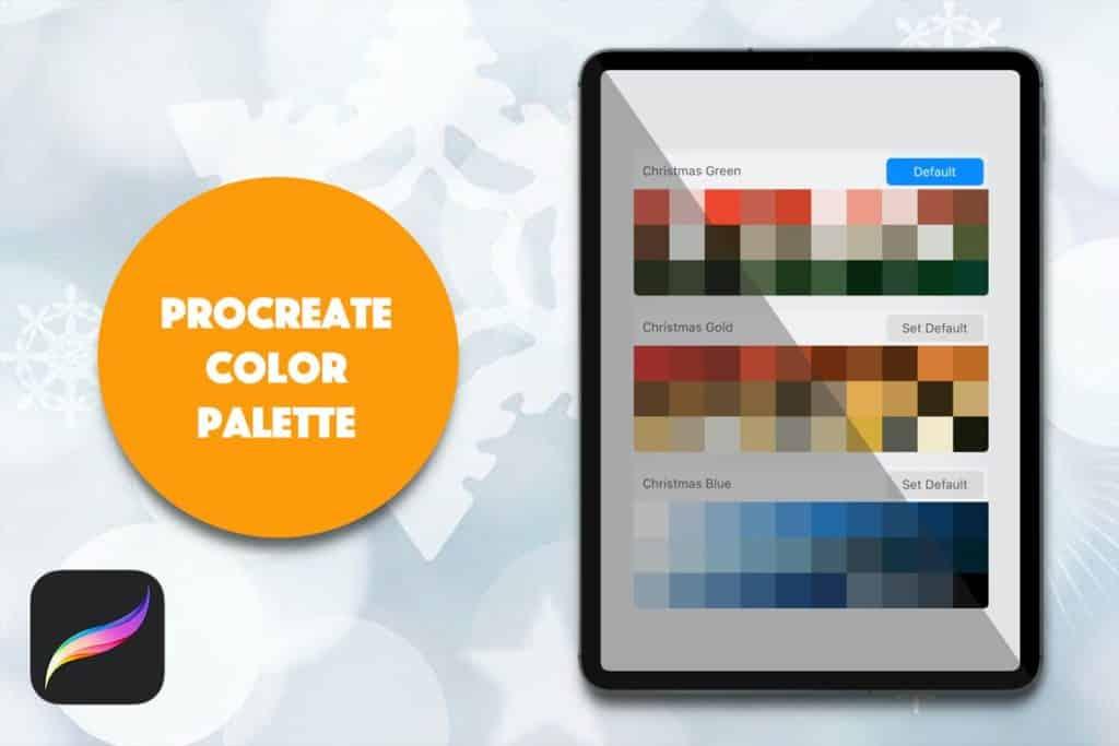 Procreate Palette - Christmas