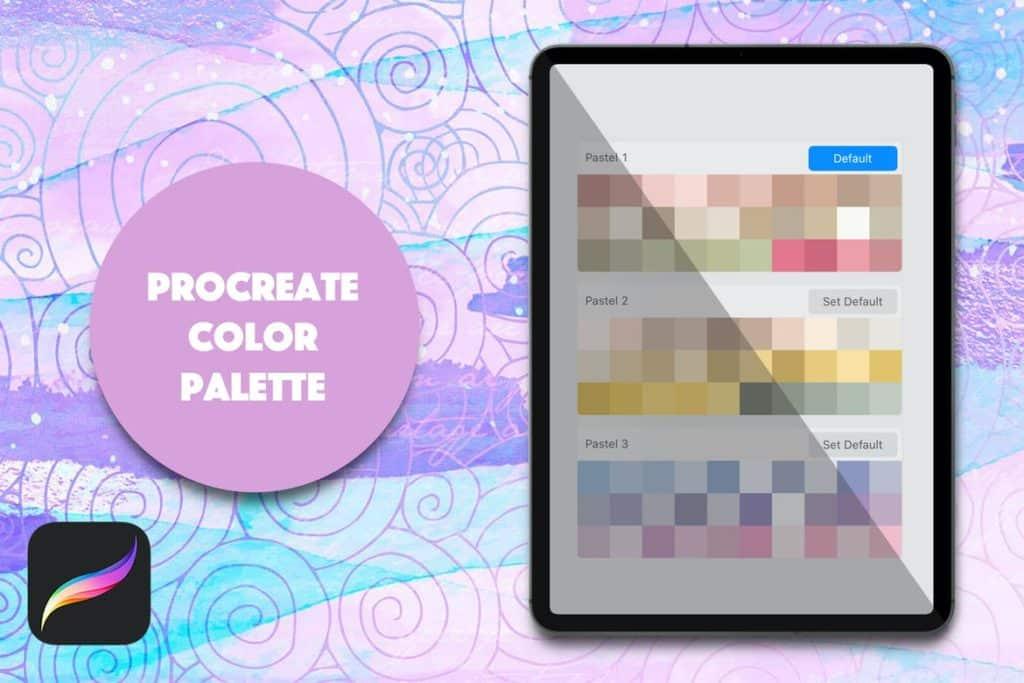 Procreate Palette - Light Pastels